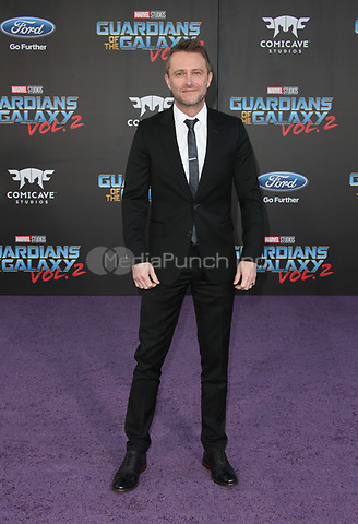 "HOLLYWOOD, CA - April 19: Chris Hardwick, At Premiere Of Disney And Marvel's ""Guardians Of The Galaxy Vol. 2"" At The Dolby Theatre  In California on April 19, 2017. Credit: FS/MediaPunch"