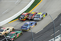 30 March - 1 April, 2012, Martinsville, Virginia USA.Jeff Gordon, Jimmie Johnson, Brad Keselowski, Clint Bowyer, Ryan Newman, Dale Earnhardt Jr., restart.(c)2012, Scott LePage.LAT Photo USA
