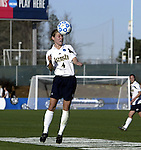 05 December 2004: Kim Lorenzen. Notre Dame defeated UCLA 4-3 on penalty kicks after the game ended in a 1-1 overtime tie at SAS Stadium in Cary, NC in the championship match in the 2004 NCAA Division I Women's College Cup...
