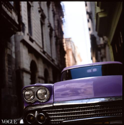 Vintage Car, Havana, Cuba by Paul Cooklin