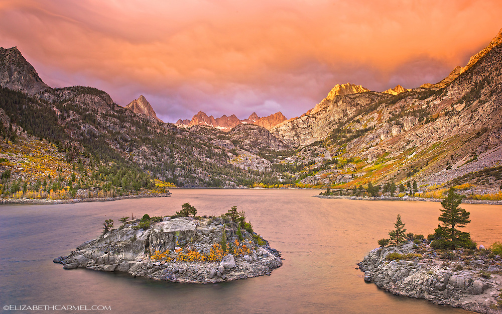Stormy Sunrise, Lake Sabrina