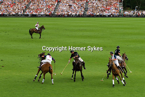 Cartier International Polo at the Guards Club, Smiths Lawn, Windsor Great park, Egham, Surrey, England  .