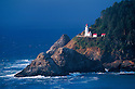 Heceta Head Lighthouse at Devils Elbow State Park, Oregon coast.
