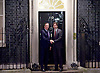 Prime Minister Justin Trudeau of Canada arrives at to Number 10 Downing Street met by David Cameron The Prime Minister<br /> 25th November 2015 <br /> 10 Downing Street, London, Great Britain <br /> <br /> Justin Trudeau <br /> <br /> <br /> Photograph by Elliott Franks <br /> Image licensed to Elliott Franks Photography Services