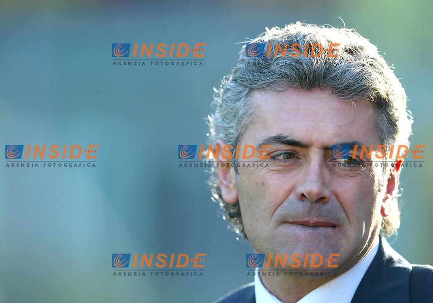 Roma 30/11/2003 <br /> Roma Lecce 3-1<br /> Franco Baldini (Roma)<br /> Foto Andrea Staccioli Insidefoto