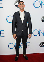 HOLLYWOOD, LOS ANGELES, CA, USA - SEPTEMBER 21: Michael Socha arrives at the Los Angeles Screening Of ABC's 'Once Upon A Time' Season 4 held at the El Capitan Theatre on September 21, 2014 in Hollywood, Los Angeles, California, United States. (Photo by Celebrity Monitor)