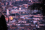 Africa, Morocco, Fes. Medina of Fes, view from Sofitel Palais Jamai hotel.
