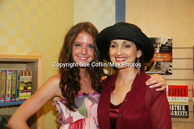 "Robin Strasser and Brittany Underwood will be reading passages Red Carpet Riot by ""David Van Etten"" who is actually three writters: Emmy-winning OLTL scribe Chris Van Etten and his friends David Levithan and David Ozanich on August 15, 2009 at Borders, Time Warner Center Mall, New York City, New York. (Photo by Sue Coflin/Max Photos)"