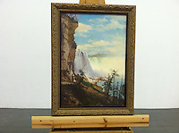 Reproduction of Niagra Falls Waterfall Landscape<br />