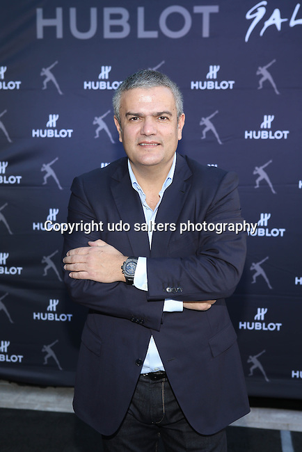 Ricardo Guadalupe, Hublot CEO, hosts the Unveiling of Hublot Design District Boutique and a Special Charity Sprint with Brand Ambassador and &quot;The Fastest Person Ever&quot; USAIN BOLT Wearing the Ricardo Guadalupe, Hublot CEO, hosts the Unveiling of Hublot Design District Boutique and a Special Charity Sprint with  Brand Ambassador and &quot;The Fastest Person Ever&quot; USAIN BOLT Wearing King Power<br />  Usain Bolt Hublot Watch to benefit the Usain Bolt Foundation Held at Hublot Design District Boutique, Miami FL