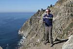 Tracking condor in Big Sur