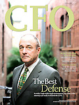 CFO magazine cover feature : Tearsheets by San Francisco Bay Area - corporate and annual report - photographer Robert Houser. 2006 pictures.