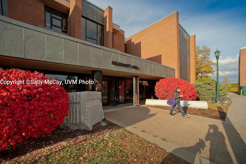 Delehanty Hall, Trinity Campus. Fall UVM Campus