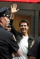 "Tom Cruise on "" Oblivion "" movie set - New York"