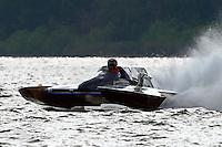 "J-1 ""Bluewater Special"" (1978 Staudacher 7 Litre Div II hydroplane)"