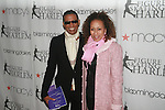 Designer B Michael and Actress Tamara Tunie Attend The 2012 Skating with the Stars honoring Vera Wang, Ellen Lowey, and Rhonda Ross: A benefit gala for Figure Skating in Harlem, Held at Wollman Rink, Central Park, NY   4/2/12