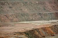 Miniere di rame di Erdenet Mongolia del Nord Sede della Erdenet Mining Company