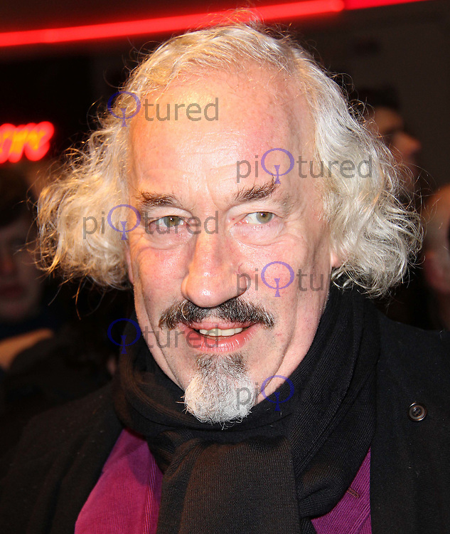 Simon Callow Whatsonstage.com Theatregoers' Choice Awards Concert, Prince of Wales Theatre, London, UK, 20 February 2011: Contact: Ian@Piqtured.com +44(0)791 626 2580 (Picture by Richard Goldschmidt)
