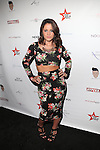 """Jenelle Evans (MTV Teen Mom 2) Attends REALITY TV STARS KICK-OFF NEW YORK CITY GAY PRIDE & A SPECIAL RUNWAY SHOW PRESENTED BY NEW YORK PARTIES . COM & THE STARKILLA PROJECT HOSTED BY Big Ang (VH1 Mobwives), Raquel """"Rocky"""" Santiago (Bad Girls Club), Briah Bettencourt (Real World Skeletons), Justin Molina (Lala's Full Court Life) and Gigi Lopez (Bad Girls Club) WITH MUSIC BY DJ Jonathan Lopez HELD AT EMPIRE HOTEL ROOF TOP"""
