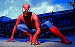 "Street performer, Justin ""Spiderman"" Webb, poses for a photo in Knoxville, Tenn. (Thunderhead Photography/Wade Payne)"