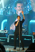 Maroon 5 performs live at the Allstate Arena in Rosemont, IL