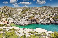 Porto Roxa in Zakynthos island, Greece