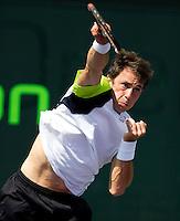 Simon GRUEL (GER) against Benjamin BECKER (GER) in the first round. Becker beat Gruel 6-3 6-2...International Tennis - 2010 ATP World Tour - Sony Ericsson Open - Crandon Park Tennis Center - Key Biscayne - Miami - Florida - USA - Wed 24 Mar 2010..© Frey - Amn Images, Level 1, Barry House, 20-22 Worple Road, London, SW19 4DH, UK .Tel - +44 20 8947 0100.Fax -+44 20 8947 0117
