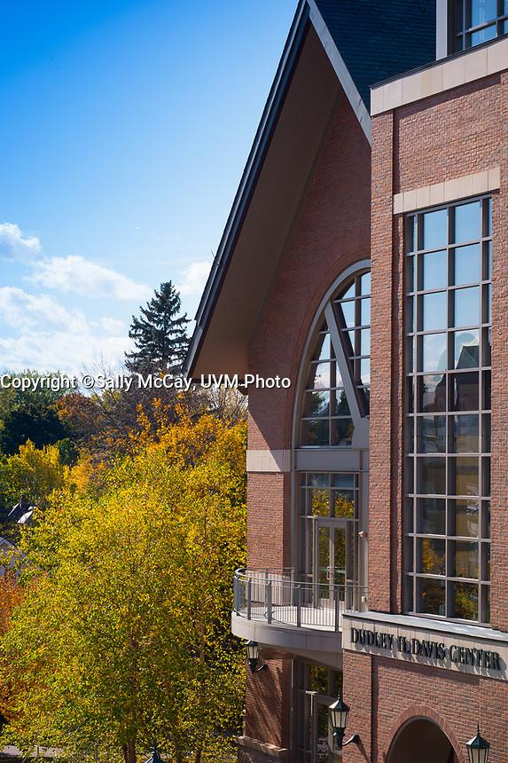 Campus Fall, Davis Center