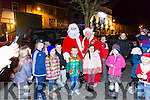 Santa and Mrs Claws came to the switching on of  the Christmas Lights in Listowel on Sunday