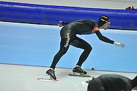SCHAATSEN: HEERENVEEN: 29-12-2013, IJsstadion Thialf, KNSB Kwalificatie Toernooi (KKT), 1000m, Ronald Mulder, ©foto Martin de Jong