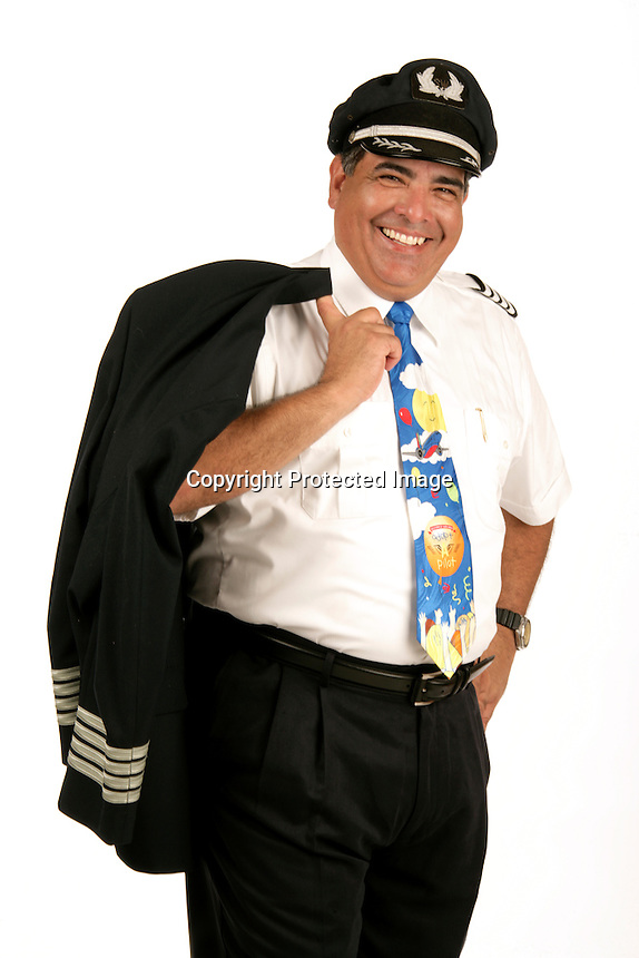Rick Carrasco, a pilot for Southwest Airlines. Star of the month for Spirit Magazine<br /> <br /> 10/29//09<br /> <br /> Photo by Chris Covatta