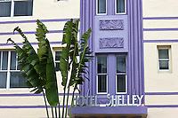 Hotel Shelley on Collins Avenue, at South Beach, Miami, Florida, USA