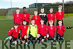 Dynamos at the U14 Tralee Dynamos v Killarney Athletic match in I.T. Tralee astroturf pitch on Saturday