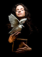 La Paloma, the dove -<br /> <br /> She is teaching me a language of love, peace, compassion, grace, imperfection and acceptance. It is a language so powerful, beautiful and expansive it creates wings in the expression and cannot be contained in a box.<br /> <br /> ~Jen T