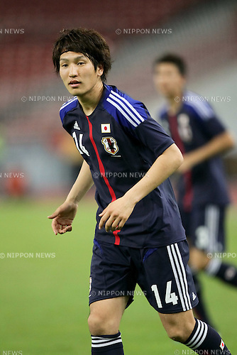 Genki Haraguchi (JPN),.FEBRUARY 22, 2012 - Football / Soccer :.2012 London Olympics Asian Qualifiers Final Round Group C match between U-23 Malaysia 0-4 U-23 Japan at National Stadium Bukit Jalil in Kuala Lumpur, Malaysia. (Photo by AFLO)