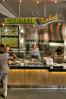 Charlie Kabob, Food Court, The Market, Santa Monica Place, Santa Monica, CA; Dining, Fast Food, restaurant,