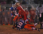 Lafayette High's D.K. Buford (2) runs vs. North Pontotoc at William L. Buford Stadium in Oxford, Miss. on Thursday, October 27, 2011. Lafayette High won 49-7...