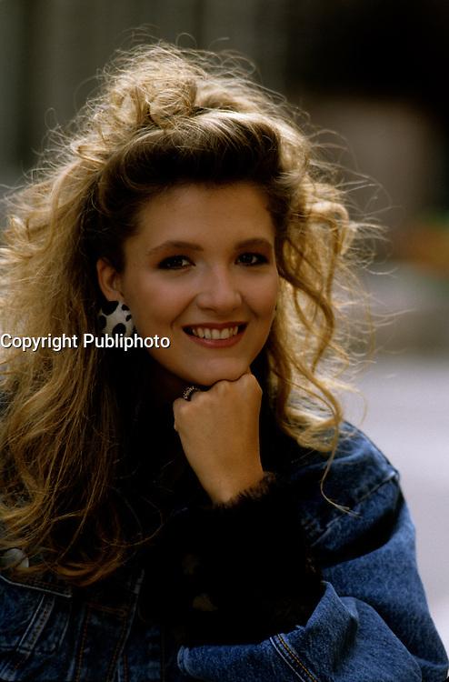 EXCLUSIVE Photo of Martine Chevrier<br />  circa 1987.