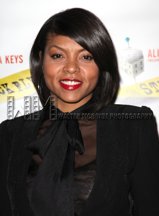 Taraji P. Henson.attending the Broadway Opening Night Performance of 'Stick Fly' at the Cort Theatre in New York City.
