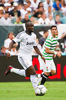 Lass Diarra (24) of Real Madrid. Real Madrid defeated Celtic F. C. 2-0 during a 2012 Herbalife World Football Challenge match at Lincoln Financial Field in Philadelphia, PA, on August 11, 2012.