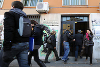 Ingresso. Entrance.Ministero del lavoro e politiche sociali.Direzione provinciale del lavoro di Roma. Servizio politiche del lavoro. Ispettorato del lavoro..Ministry of Labor and Social Policy. Provincial Employment Office in Rome. Service labor policies. ...