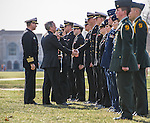 2014 ROTC Pass in Review 2.JPG by Matt Cashore/University of Notre Dame