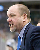 Scott Borek (UNH - Associate Head Coach) - The University of Notre Dame Fighting Irish defeated the University of New Hampshire Wildcats 2-1 in the NCAA Northeast Regional Final on Sunday, March 27, 2011, at Verizon Wireless Arena in Manchester, New Hampshire.