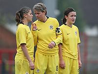 Arsenal Ladies vs Sparta Prague - UEFA Women's Champions League at Boreham Wood FC - 11/11/09 - MANDATORY CREDIT: Gavin Ellis/TGSPHOTO - Self billing applies where appropriate - Tel: 0845 094 6026
