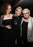 Rebecca Taichman, Daryl Roth anf Paula Vogel attends the Broadway Opening Night After Party for  'Indecent' at Bryant Park Grill on April 18, 2017 in New York City.