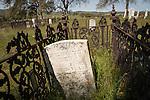 Historic 19th century Gold Rush era City Cemetery, Chinese Camp, Calif...Samual Sherman