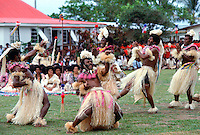 Fijian native dancers in Fiji, South Pacific RESERVED USE - NOT FOR DOWNLOAD -  FOR USE CONTACT TIM GRAHAM