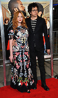 Christina Hendricks &amp; Geoffrey Arend at the world premiere for &quot;Fist Fight&quot; at the Regency Village Theatre, Westwood, Los Angeles, USA 13 February  2017<br /> Picture: Paul Smith/Featureflash/SilverHub 0208 004 5359 sales@silverhubmedia.com