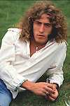 The Who 1971 Roger Daltrey at Keith Moons's house