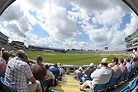 Cricket-England v South Africa-Investec PR-Headingley-02/08/2012-Pictures by Paul Currie-KEEP-Investec PR general view
